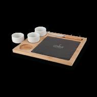 Promotional Products - Custom logo'd Sushi Slate Platter