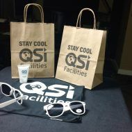 Promotional Products - Quality Solutions Incorporated Logo'd Gift Bags