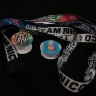 Promotional Products - Team Nico Hernandez Olympic Boxer Lanyards adn Pop Sockets