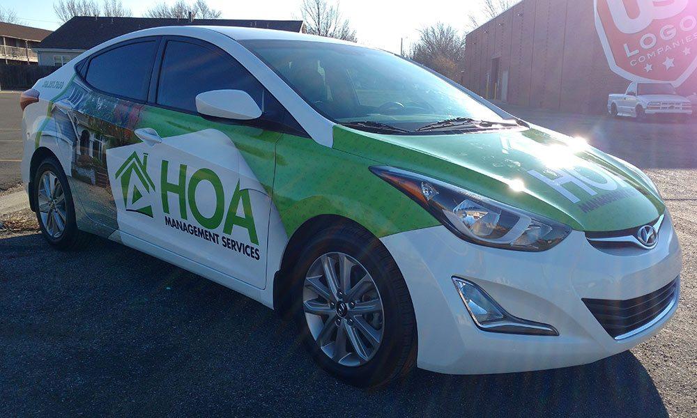 HOA Management Full Coverage Fleet Wrap