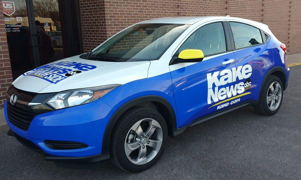 KAKE News ABC Honda Partial Wrap