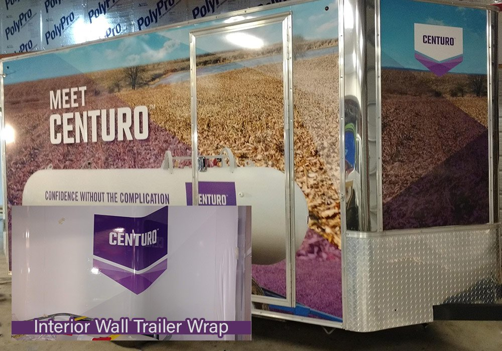 CENTURO™ nitrogen stabilizer from Koch Agronomic Services (KAS) Trailer Wrap by MightyWraps a US Logo Company