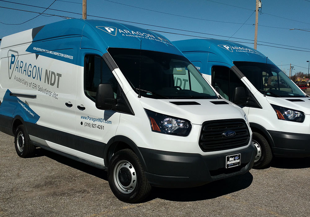 ERI Solutions Sprinter Van Wraps - We are available to wrap one van or a fleet of 100 vans. We are here to meet your vinyl wrap needs...