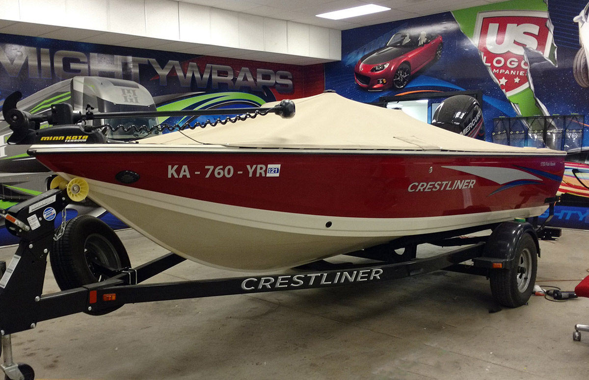 Vinyl boat wraps can give new life to your watercraft