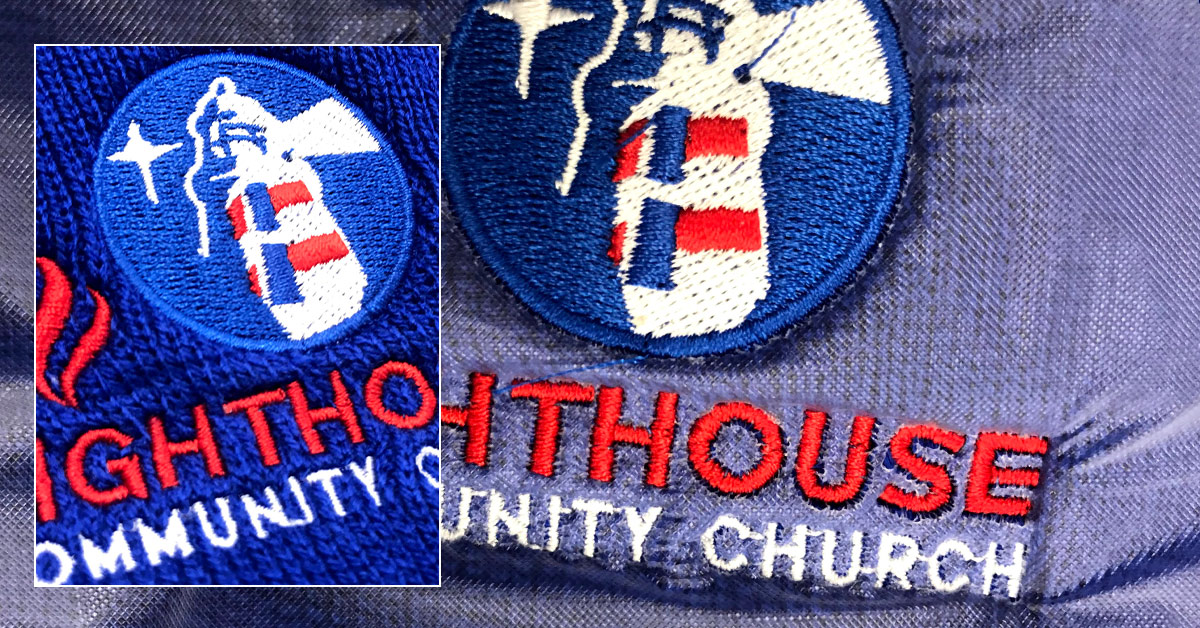 Warm and Fuzzy Giveaways to Raise Brand Awareness - Lighthouse Community Church Embroidered Beanies and Stocking Caps