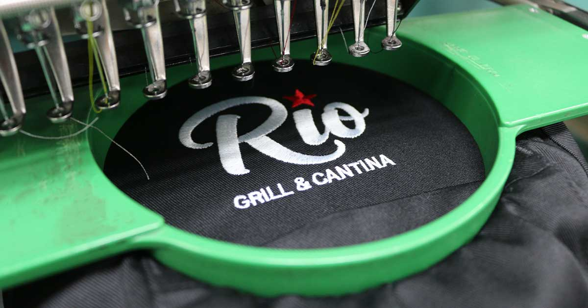 Embroidered Restaurant Apparel 2021