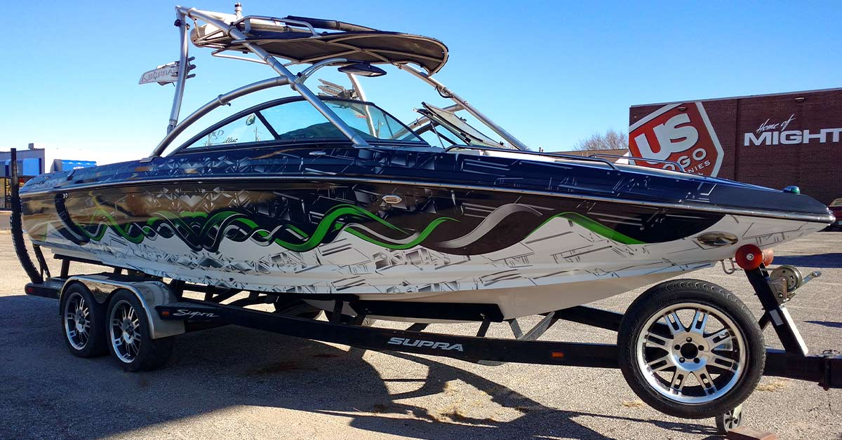 Like most things, if you take care of your boat wrap, it will last a long time.