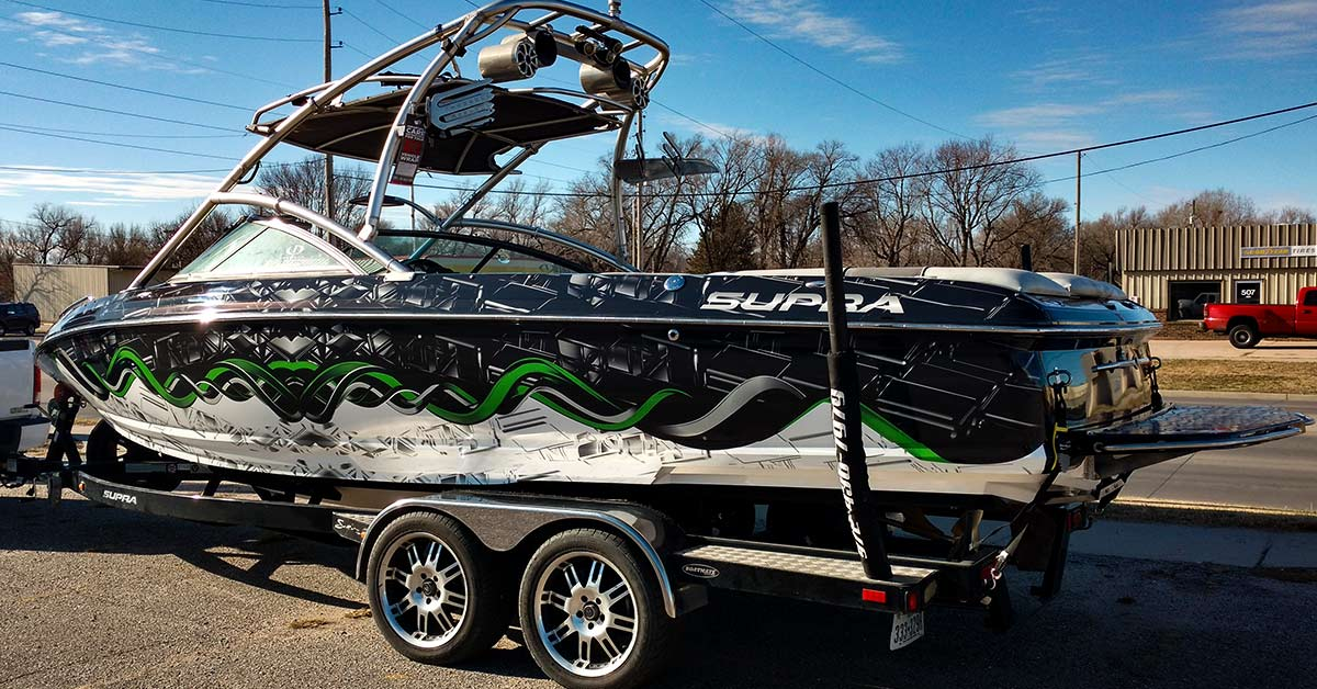 Caring for you vinyl boat wrap can be easy if you are willing to take the time.