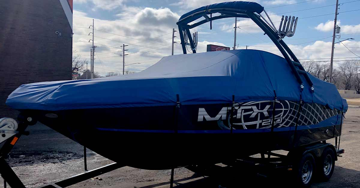 Vinyl for boat graphics is super easy to reprint and replace. If it is a color change vinyl, then it is even easier.