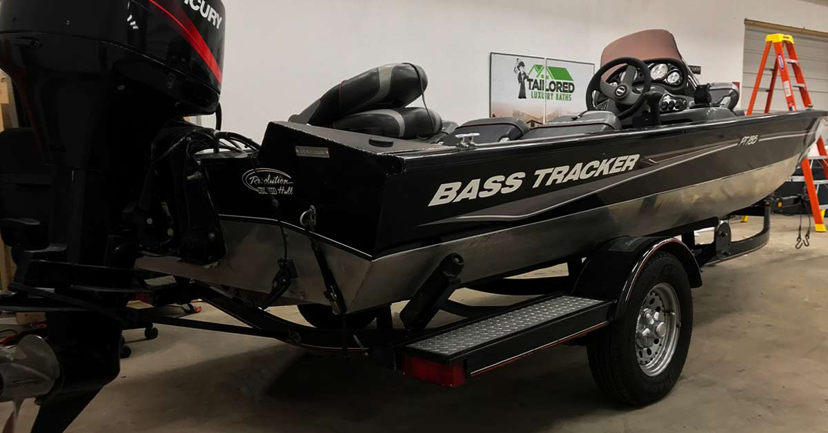 the beauty of vinyl wrapping your bass boat is that it is much more economical than paint.
