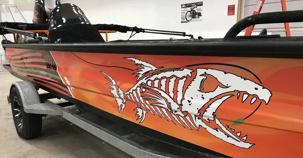 From design to print and installation, MightyWraps has you boat and watercraft wraps covered. The marine wrap will serve you well.
