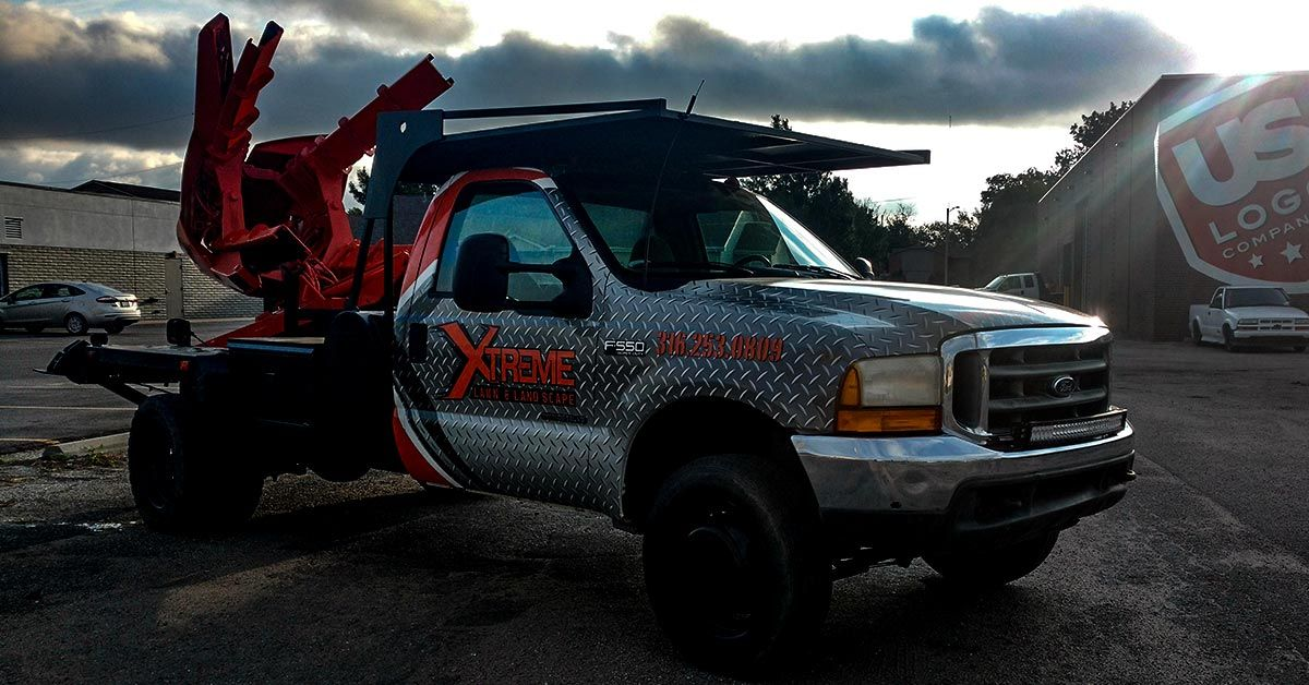 The Dos and Don'ts of Truck Wraps - Xtreme Lawn and Landscape Full Coverage Truck Wraps