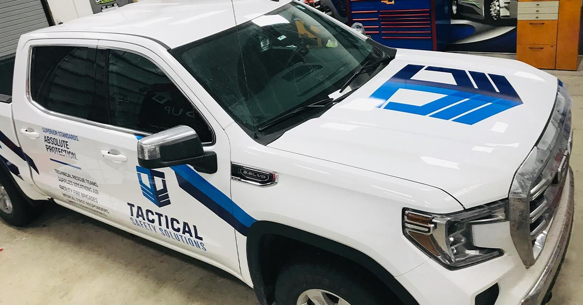 TACTICAL SAFETY SOLUTIONS Fleet Truck Wraps by MightyWraps