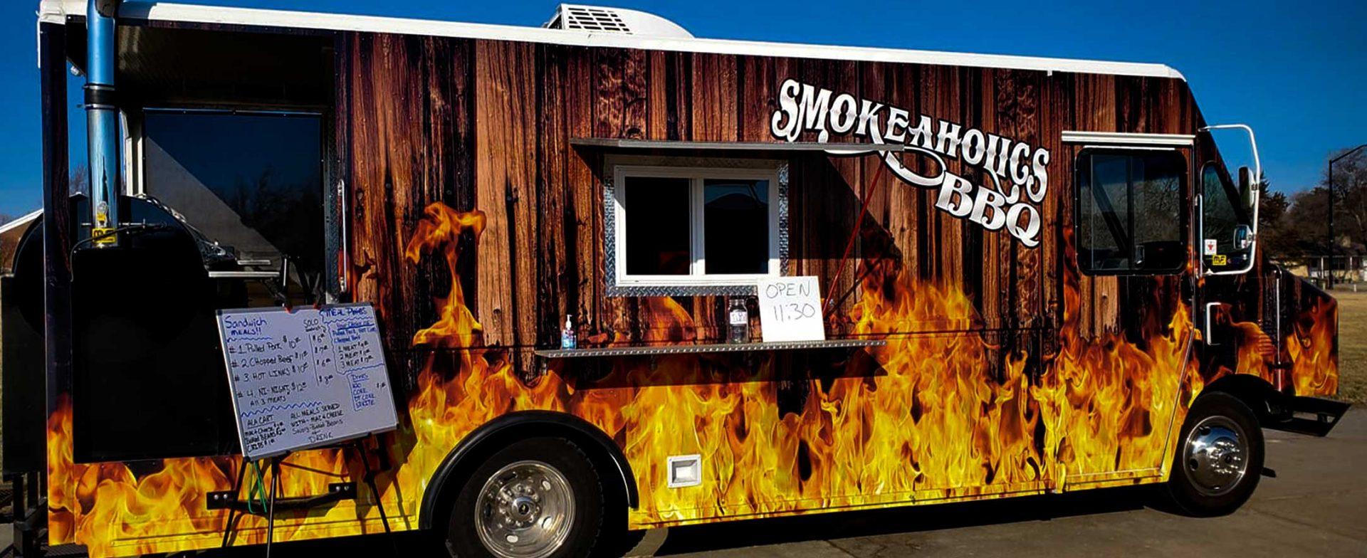 Smokeaholics BBQ Food Truck