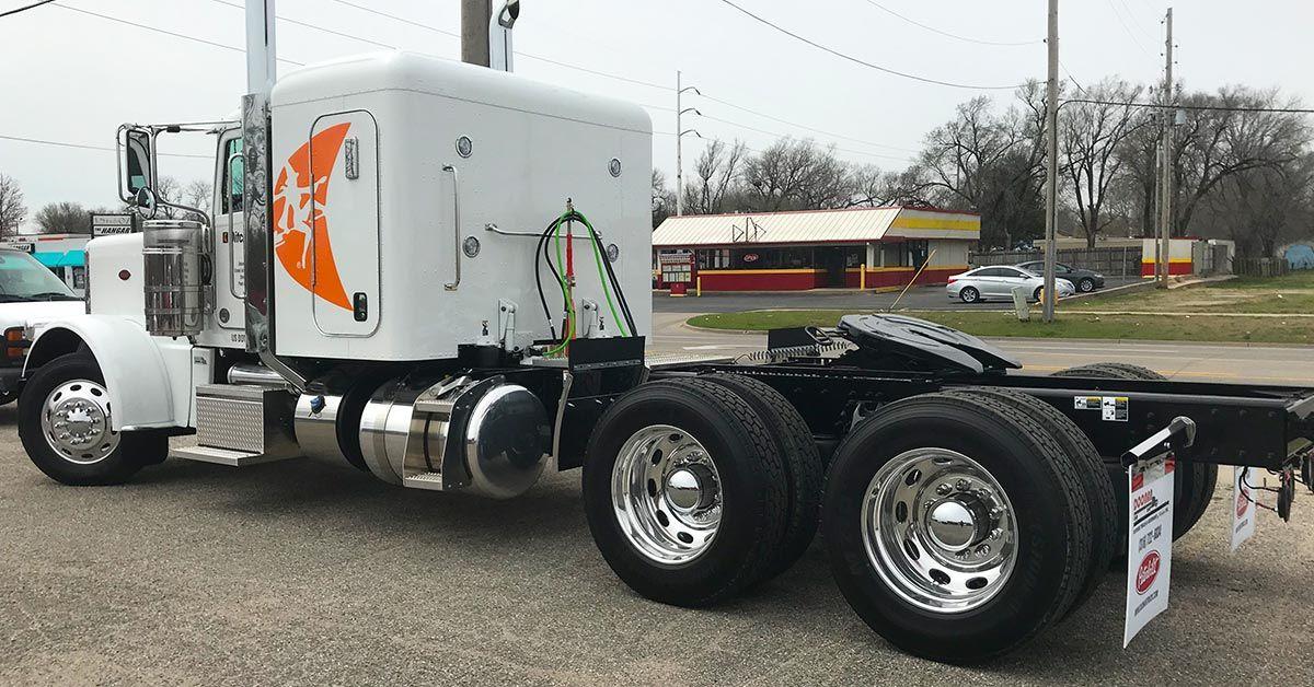 Ditchwitch Undercon Peterbilt Semi Truck Graphics