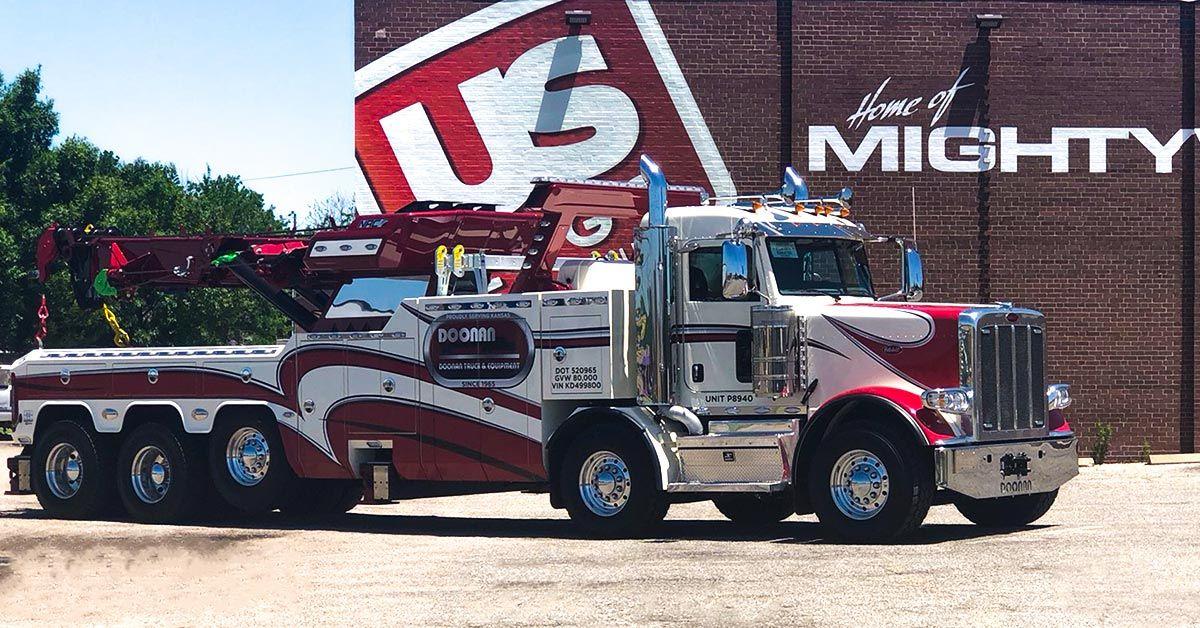 Doonan Heavy Equipment Tow Truck Wrap
