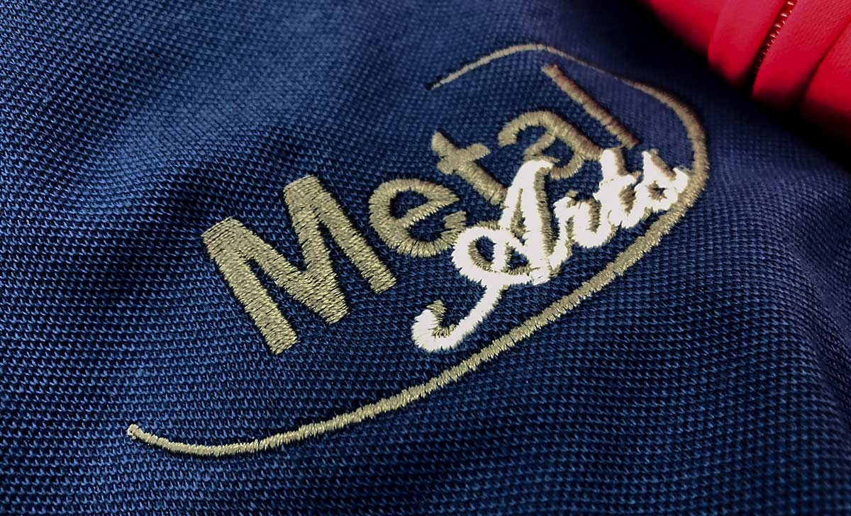 Promotional Embroidery - Metal Arts Custom Embroidered Promotional Apparel