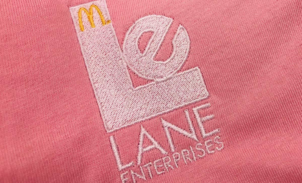 Adding custom embroidery to its marketing mix