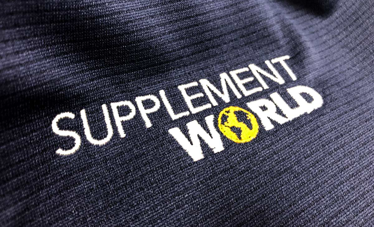 Supplement World Embroidered Apparel