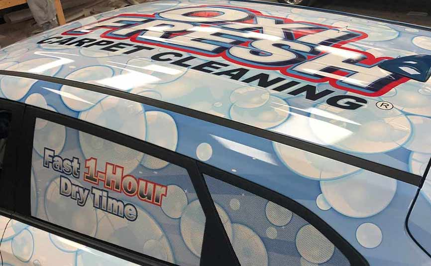 What are Commercial Vehicle Wraps?