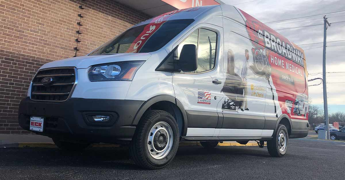 Broadway Home Medical - Commercial Fleet Wraps