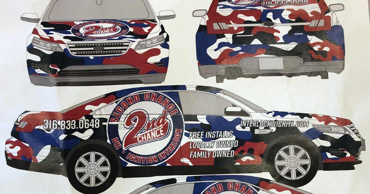 2nd Chance DUI Interlock - Commercial Car Wrap Mockup