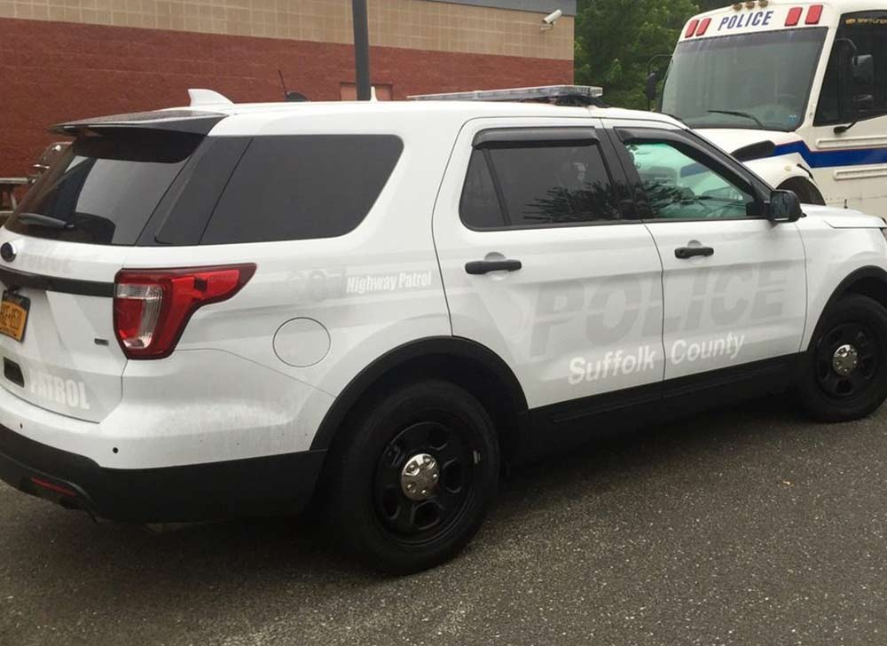 What are Ghost Graphics for Law Enforcement Vehicles? - 2016 SCPD Highway Patrol Bureau Ghost Graphics