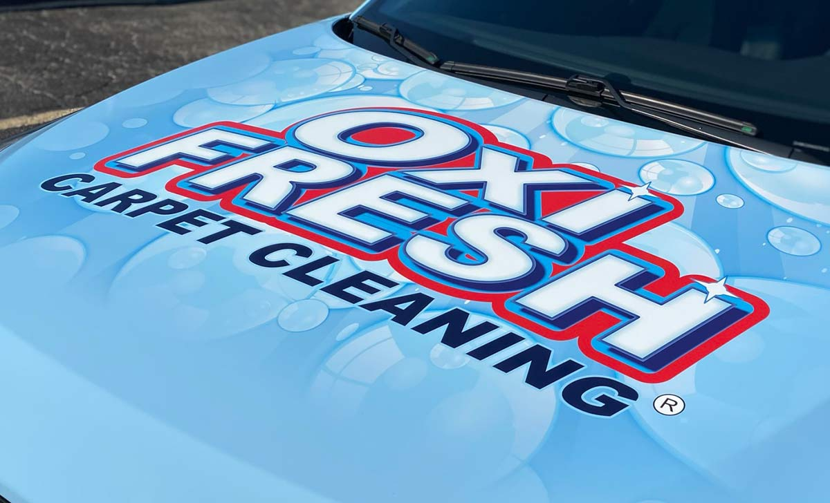 Read This Before Designing Your Company's Vehicle Wraps - OXi-Fresh Carpet Cleaing Full Coverage Vinyl Wrap