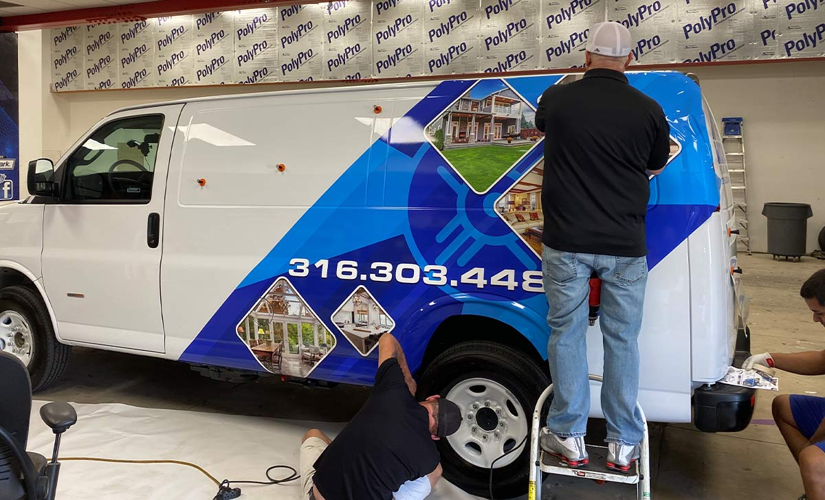 Installing your own truck wrap can end up costing you more